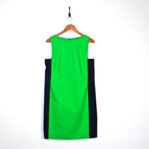 LAUREN RALPH LAUREN Color Blocked Sheath Dress